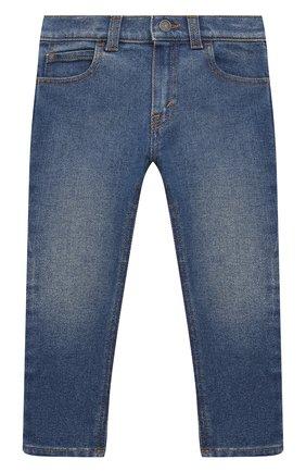 Детские джинсы GUCCI темно-синего цвета, арт. 657868/XDBP0 | Фото 1