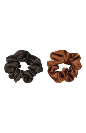 Детская комплект из двух резинок JUNEFEE коричневого цвета, арт. 6640 | Фото 1