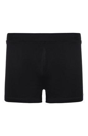 Мужские плавки-шорты CALVIN KLEIN черного цвета, арт. KM0KM00586 | Фото 1