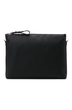 Мужская кожаная сумка RALPH LAUREN черного цвета, арт. 437845327   Фото 1