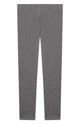 Детские хлопковые брюки IL GUFO серого цвета, арт. A21PL028M0100/10A-12A | Фото 2