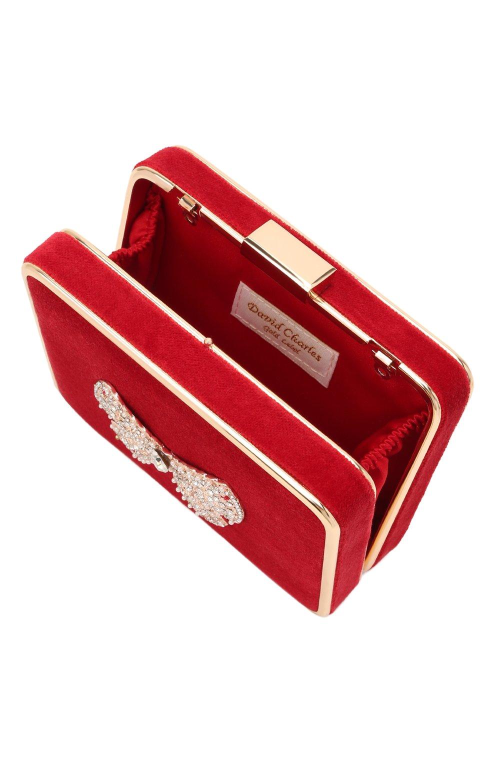 Детская сумка DAVID CHARLES красного цвета, арт. 7601   Фото 3 (Материал: Текстиль)