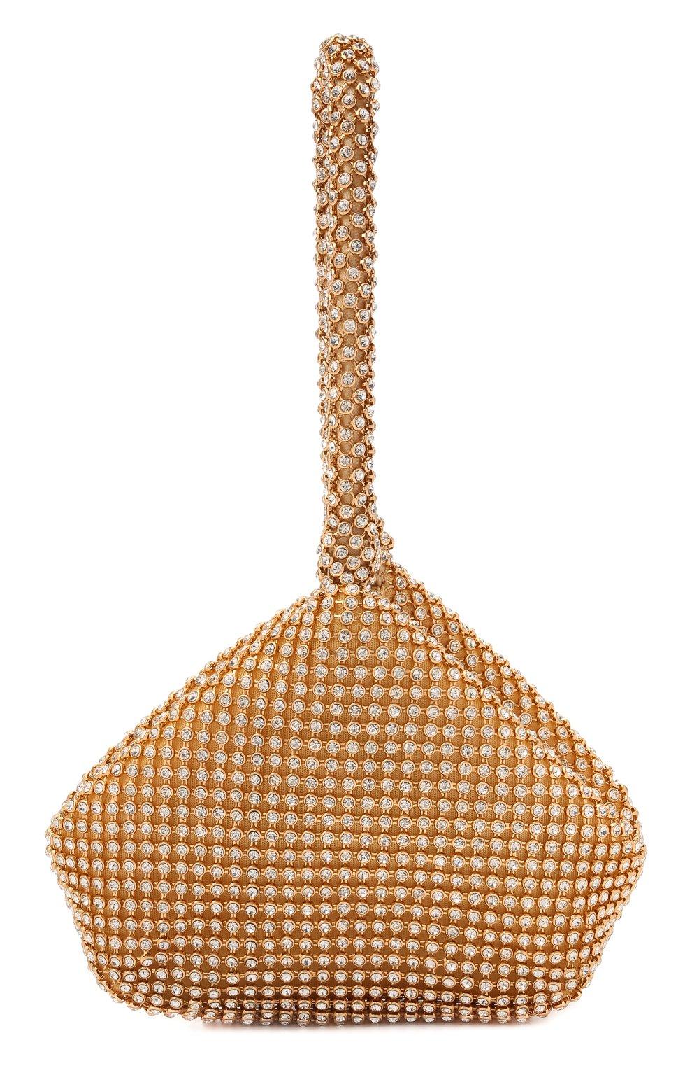 Детская сумка DAVID CHARLES золотого цвета, арт. 7613 | Фото 1 (Материал: Текстиль)