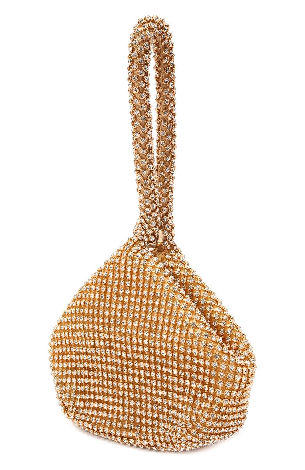 Детская сумка DAVID CHARLES золотого цвета, арт. 7613 | Фото 2 (Материал: Текстиль)