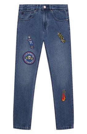 Детские джинсы STELLA MCCARTNEY синего цвета, арт. 602323/SQK20 | Фото 1