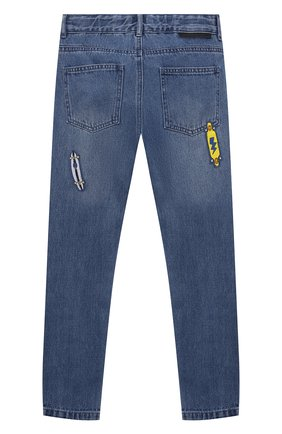 Детские джинсы STELLA MCCARTNEY синего цвета, арт. 602323/SQK20 | Фото 2