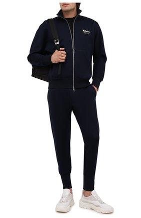 Мужские джоггеры ALEXANDER MCQUEEN темно-синего цвета, арт. 664958/QRX55 | Фото 2