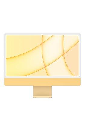 "Imac 24"" m1 (8c cpu, 8c gpu), 256gb yellow APPLE  yellow цвета, арт. Z12S000BK | Фото 1 (Память: 256GB)"