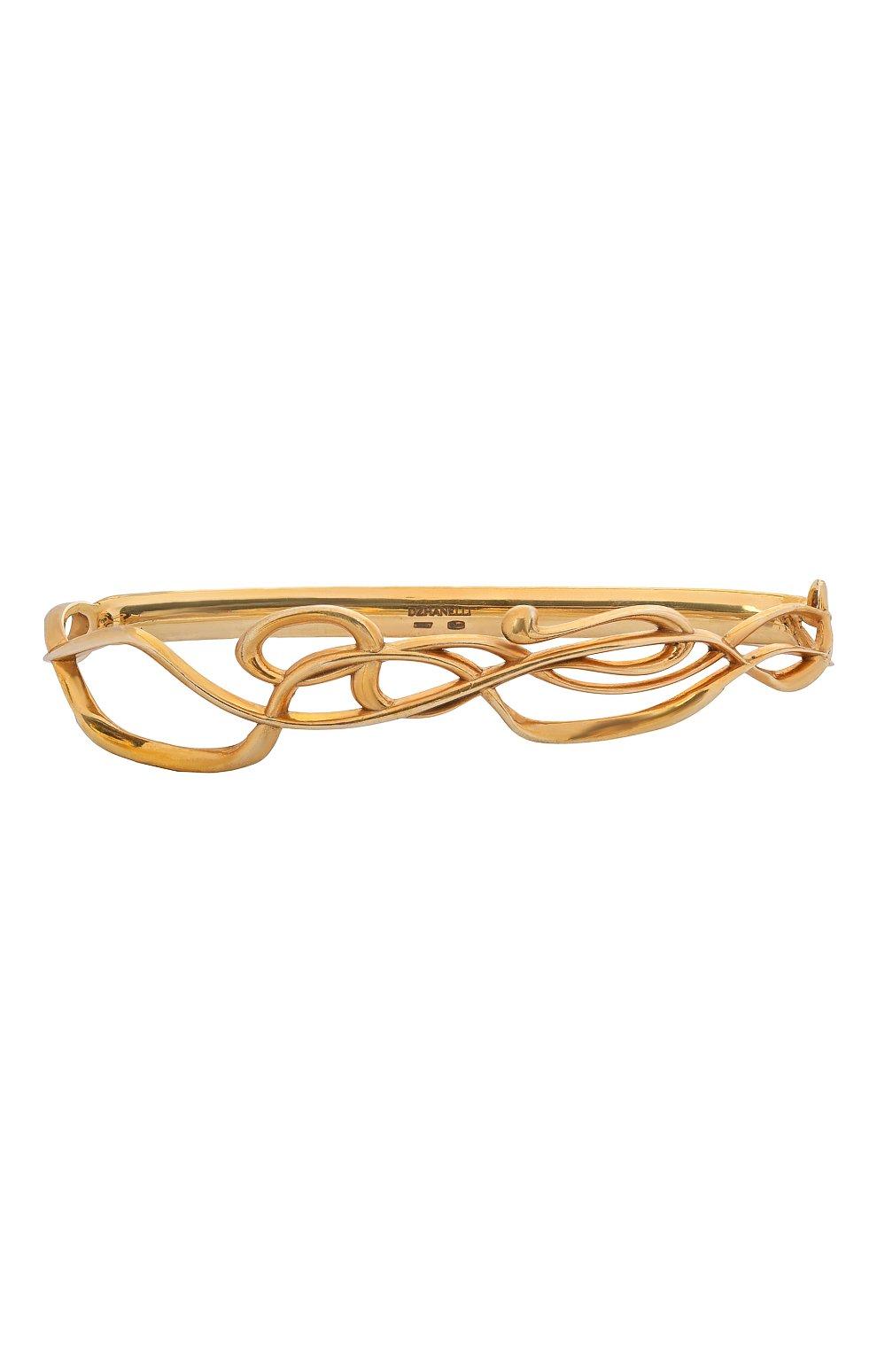 Женский браслет на ладонь serpentes DZHANELLI золотого цвета, арт. 0360 | Фото 1 (Материал: Серебро)