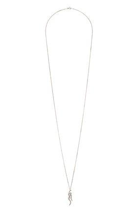 Женская кулон на цепочке LEVASHOVAELAGINA серебряного цвета, арт. trible2/n | Фото 1