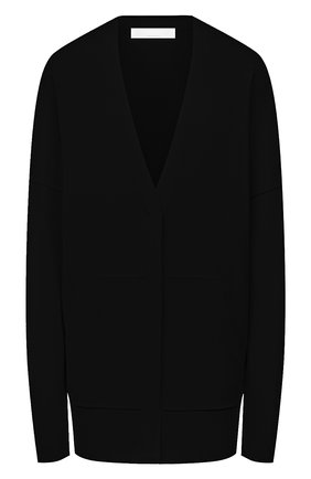 Женский кардиган из вискозы BOSS черного цвета, арт. 50453960 | Фото 1