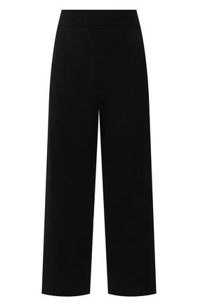 Женские брюки из вискозы BOSS черного цвета, арт. 50454013 | Фото 1
