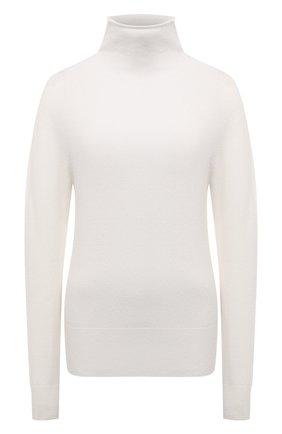Женская кашемировая водолазка BOSS белого цвета, арт. 50459523 | Фото 1