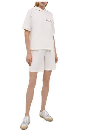 Женский хлопковый костюм SEVEN LAB белого цвета, арт. STS20-PF milk   Фото 1