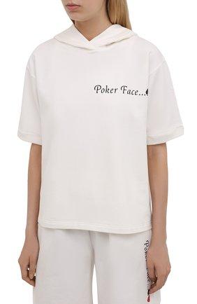Женский хлопковый костюм SEVEN LAB белого цвета, арт. STS20-PF milk   Фото 2