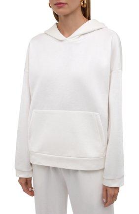 Женский хлопковый костюм SEVEN LAB белого цвета, арт. HP20-shine milk   Фото 2