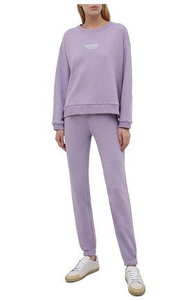 Женский хлопковый костюм SEVEN LAB сиреневого цвета, арт. SWP21-D lavender   Фото 1