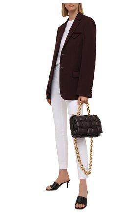 Женские джинсы DOLCE & GABBANA белого цвета, арт. FTAH6D/G899M   Фото 2 (Длина (брюки, джинсы): Стандартные; Материал внешний: Хлопок; Кросс-КТ: Деним; Силуэт Ж (брюки и джинсы): Скинни; Стили: Гламурный)