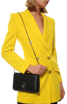 Женская сумка varenne JIMMY CHOO черного цвета, арт. VARENNE CLUTCH/CLF | Фото 2