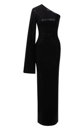 Женское платье с пайетками SOLACE черного цвета, арт. 0S29061 | Фото 1