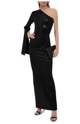 Женское платье с пайетками SOLACE черного цвета, арт. 0S29061 | Фото 2