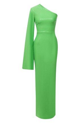 Женское платье с пайетками SOLACE зеленого цвета, арт. 0S29061 | Фото 1