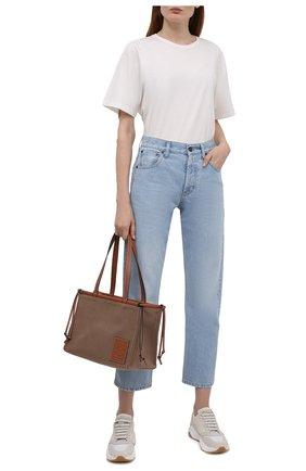 Женские кожаные кроссовки LORENA ANTONIAZZI белого цвета, арт. A2177SC001/425   Фото 2
