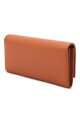 Женские кожаное портмоне COCCINELLE оранжевого цвета, арт. E2 IW5 11 03 01   Фото 2