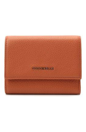Женские кожаное портмоне COCCINELLE оранжевого цвета, арт. E2 IW5 11 10 01   Фото 1