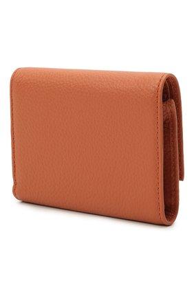 Женские кожаное портмоне COCCINELLE оранжевого цвета, арт. E2 IW5 11 10 01   Фото 2