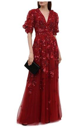 Женское платье ZUHAIR MURAD красного цвета, арт. DRS21002/EMJA001 | Фото 2