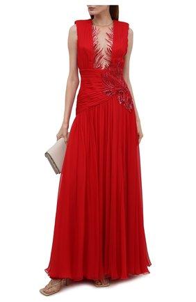 Женское платье ZUHAIR MURAD красного цвета, арт. DRS21038/CHSI020 | Фото 2
