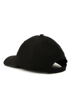Женская хлопковая бейсболка BURBERRY черного цвета, арт. 8043040 | Фото 2