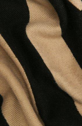 Женский шерстяной шарф BURBERRY бежевого цвета, арт. 8035525   Фото 2