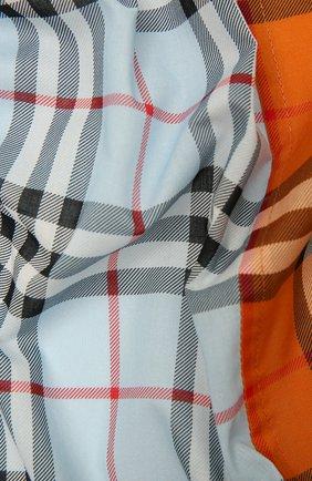 Женская хлопковая бандана BURBERRY разноцветного цвета, арт. 8045282 | Фото 2