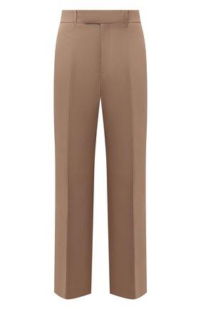 Женские брюки GUCCI бежевого цвета, арт. 661739/Z713C   Фото 1
