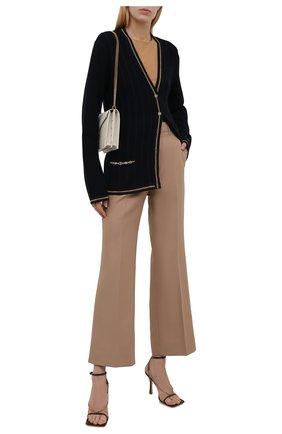 Женские брюки GUCCI бежевого цвета, арт. 661739/Z713C   Фото 2