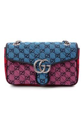 Женская сумка gg marmont 2.0 GUCCI разноцветного цвета, арт. 443497/2UZIN   Фото 1