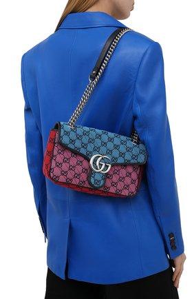 Женская сумка gg marmont 2.0 GUCCI разноцветного цвета, арт. 443497/2UZIN   Фото 2