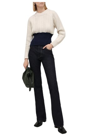 Женский свитер из шерсти и кашемира ALEXANDER MCQUEEN разноцветного цвета, арт. 667783/Q1AVD | Фото 2