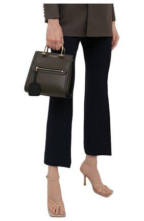 Женская сумка tall story ALEXANDER MCQUEEN хаки цвета, арт. 656471/D78AB | Фото 2
