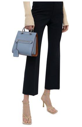 Женская сумка tall story ALEXANDER MCQUEEN синего цвета, арт. 656471/D7899 | Фото 2
