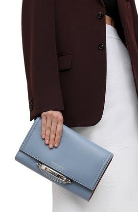 Женская сумка tall story ALEXANDER MCQUEEN синего цвета, арт. 653018/1YAAE | Фото 2
