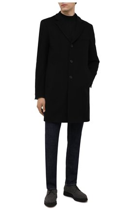Мужские текстильные дерби DOUCAL'S серого цвета, арт. DU2482DAK0UT032NN05 | Фото 2