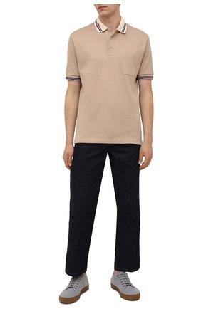 Мужские текстильные кеды dbb1 LANVIN серого цвета, арт. FM-SKDBB1-FELT-A21 | Фото 2 (Материал внутренний: Натуральная кожа; Подошва: Массивная; Материал внешний: Текстиль)