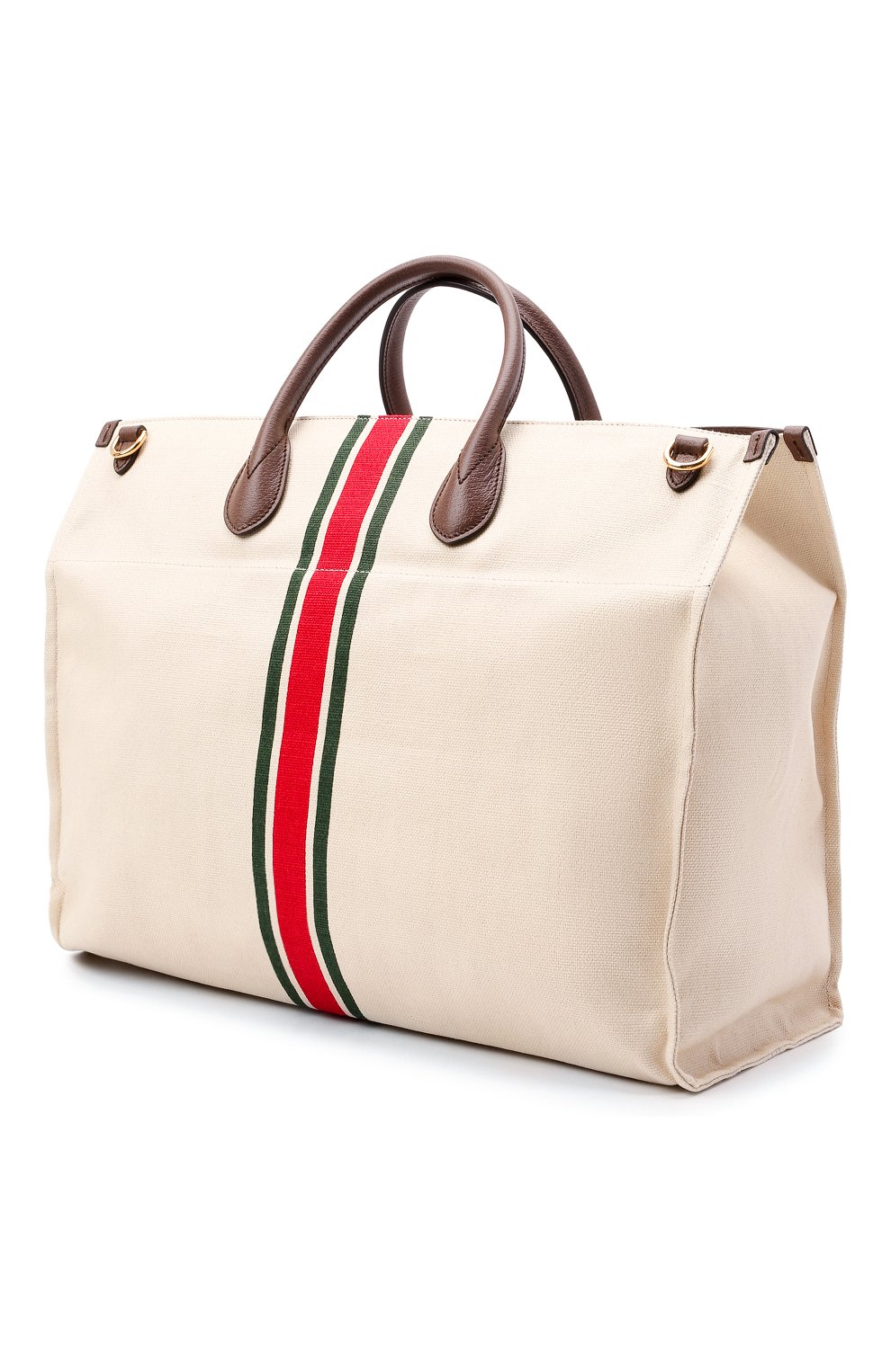 Мужская текстильная сумка-тоут GUCCI светло-бежевого цвета, арт. 658876/2U2AG   Фото 3