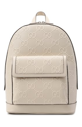 Кожаный рюкзак GG | Фото №1