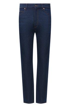 Мужские джинсы GUCCI синего цвета, арт. 623953/XDBMG | Фото 1