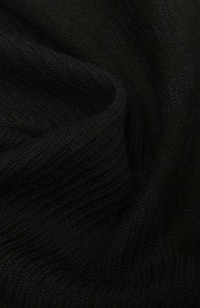 Мужской шарф из шерсти и кашемира GIORGIO ARMANI темно-синего цвета, арт. 745016/1A116 | Фото 2