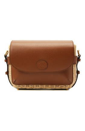 Мужская сумка GUCCI бежевого цвета, арт. 655608/JCIAT | Фото 1